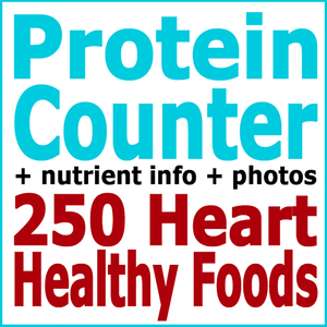 Health & Fitness - Absolute Healthy Diet Protein Counter: 250 Heart Healthy Foods - First Line Medical Communications Ltd