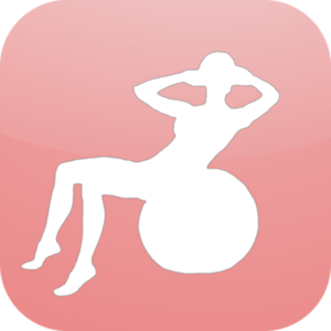 Health & Fitness - Gym Ball 10 Min Full Body Workout - daily fitness exercise home program and workout trainer