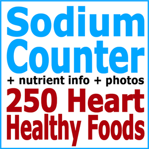 Health & Fitness - Absolute Healthy Diet Sodium Counter: 250 Heart Healthy Foods - First Line Medical Communications Ltd