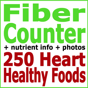 Health & Fitness - Absolute Healthy Diet Fiber Counter: 250 Heart Healthy Foods - First Line Medical Communications Ltd