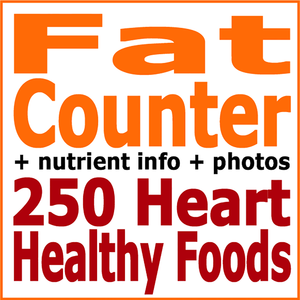 absolute healthy diet fat counter 250 heart healthy foods first