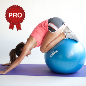 Health & Fitness - Exercise Ball Workout Challenge PRO - Get fit - Cristina Gheorghisan