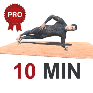 Health & Fitness - 10 Min PLANKS Workout Challenge PRO - Tone