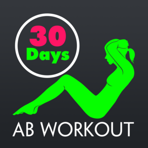 Health & Fitness - 30 Day Ab Fitness Challenges ~ Daily Workout Pro - Shane Clifford