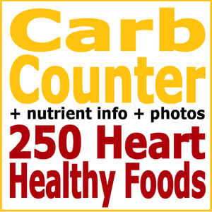 Health & Fitness - Carb Counter plus 250 Heart Healthy Foods - First Line Medical Communications Ltd