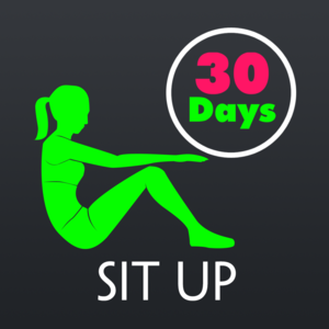 Health & Fitness - 30 Day Sit Up Fitness Challenges Pro - Shane Clifford