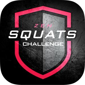 Health & Fitness - 0-200 Squats Trainer Challenge - Zen Labs