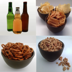 Health & Fitness - Calories in Alcohol and Snacks - Awesomeappscenter LLC