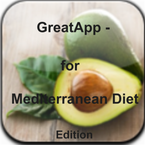 Health & Fitness - GreatApp - For Mediterranean Diet Edition:Looking for a heart-healthy eating plan