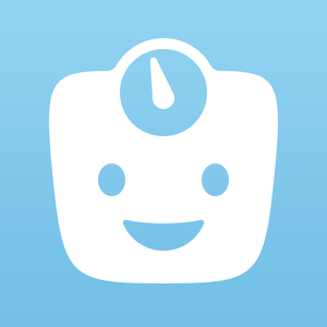 Health & Fitness - Happy Scale: Simple Weight Loss Tracker with Daily Moving Average Trend Line - Front Pocket Software LLC