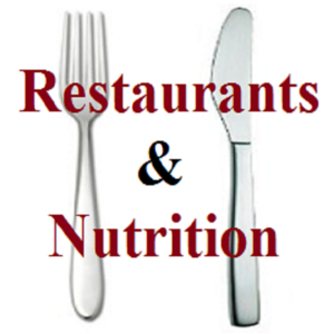 Health & Fitness - Restaurants & Nutrition : Fast Food Nutrition Plus Calculator for Food Score