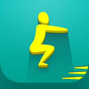 Health & Fitness - Squats Challenge: 0-100 Squats trainer workout - FITNESS22 LTD