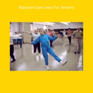 Health & Fitness - Balance exercises for seniors - VishalKumar Thakkar