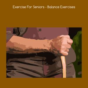 Health & Fitness - Exercise for seniors balance exercises - VishalKumar Thakkar