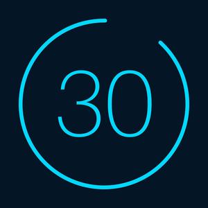 Health & Fitness - 30 Day Fitness Challenge Log - Vigor Apps