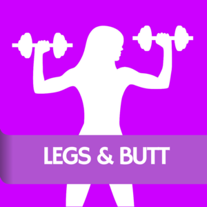 Health & Fitness - Legs & Butt Gym: Woman Fitness Workout to Lift Glutes and Get Buttocks Like Brazilian - Game Maker Photo Video and Emoji for Basketball Kids