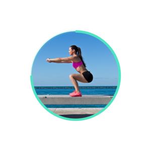 Squat – 30 Day Butt & Lean Leg Challenges at Home – Jonathan Ratcliff