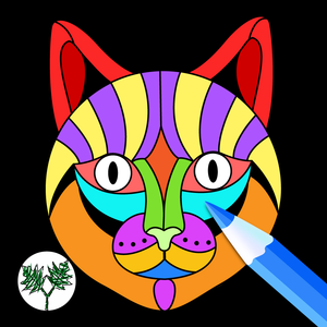 Health & Fitness - Creative Cats Art Class- Mindfulness Coloring Books for Adults - PlaneTree Family Productions