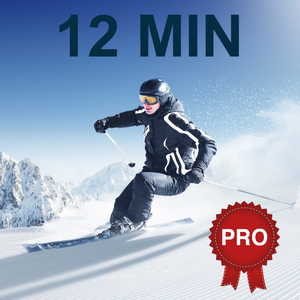 12 Min Ski Workout Challenge PRO – Fit for slopes – Cristina Gheorghisan